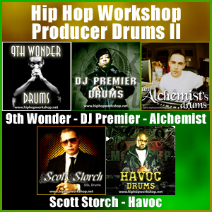Pay for Hip Hop Workshop Producer Drums II