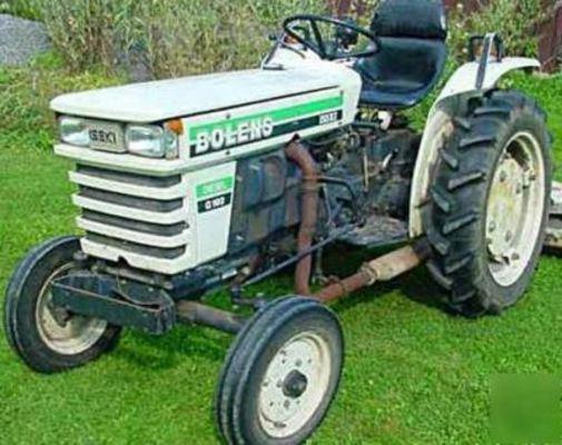 bolens iseki diesel master manual tx1300 1500 g152 download man rh tradebit com Old Bolens Lawn Tractor Bolens Tractor Parts