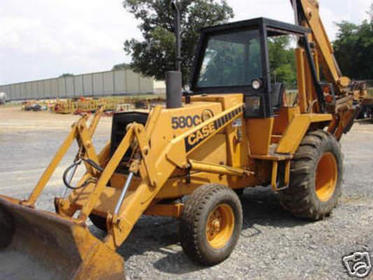 Case 580c Backhoe : Case c service repair manual maintenance backhoe