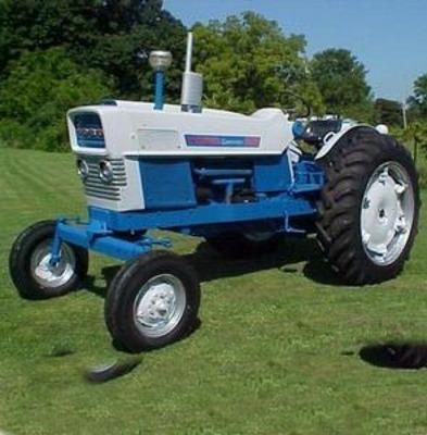ford tractor 2000 7000 shop parts manual 1965 75 repair. Black Bedroom Furniture Sets. Home Design Ideas