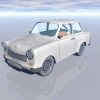Thumbnail German Trabant 3D Model