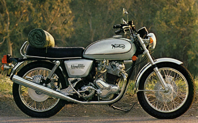 1973 Norton Commando 850