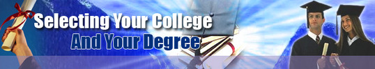 Thumbnail Selecting Your College & Degree