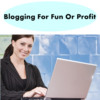 Thumbnail Blogging For Fun Or Profit