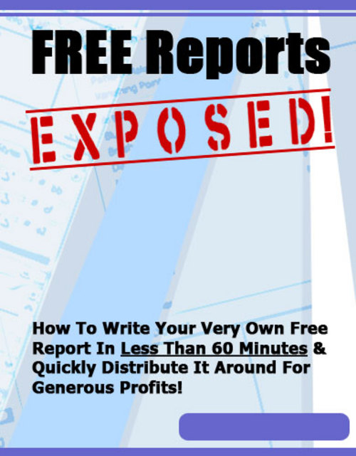 Pay for Free Reports Exposed! - Confirmed