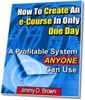 Thumbnail How To Create An e-Course In Only One Day