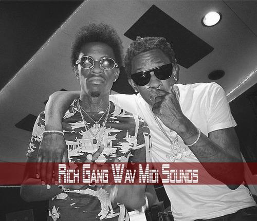 Pay for Young Thug Metro Boomin Rich Gang Midi WAV Sounds