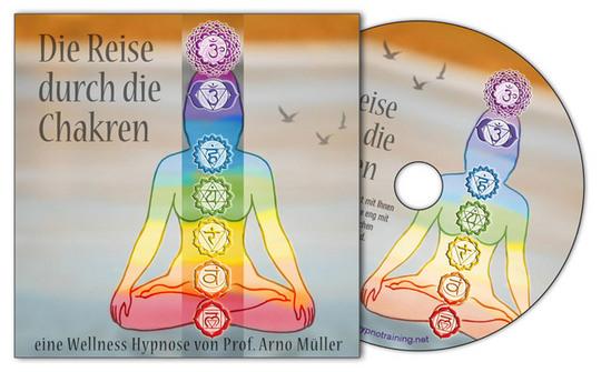 Pay for Wellness Hypnose - Die Reise durch die Chakren (MP3)