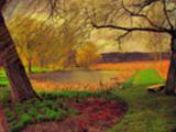 Thumbnail Postermotiv HDR - PM001 - Park in Grasten / Dänemark