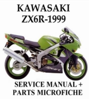 Pay for Werkstatthandbuch Kawasaki Ninja ZX-6R 1999