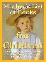 Thumbnail Mothers List of Books for Children