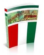 Thumbnail European Mini E-Book Italian Language Phrases With GR (Giveaway Rights)