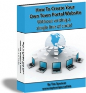 Thumbnail How To Create Your Own Town Portal Website With GR (Giveaway Rights)