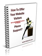 Thumbnail How To Offer Your Website Visitors FREE Phone Support!