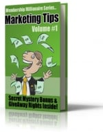Thumbnail Membership Millionaire Series Marketing Tips Volume #1 With GR (Giveaway Rights)