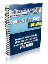 Thumbnail Online Dating Guide for Men With GR (Giveaway Rights)