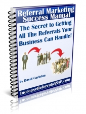 Thumbnail Referral Marketing Success Manual With GR (Giveaway Rights)