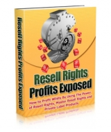 Thumbnail Resell Rights Profits Exposed With GR (Giveaway Rights)