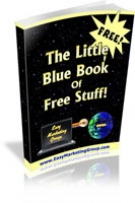 Thumbnail The Little Blue Book of Free Stuff! With GR (Giveaway Rights)