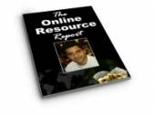 Thumbnail The Online Resource Report