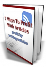 Thumbnail 7 Ways To Profit With Articles With MRR (Master Resale Rights)
