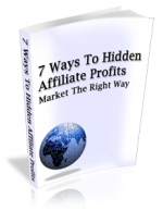 Thumbnail 7 Ways To Hidden Affiliate Profits With MRR (Master Resale Rights)