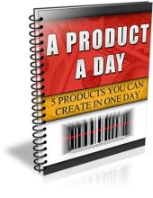Thumbnail A Product A Day With MRR (Master Resale Rights)