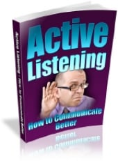 Thumbnail Active Listening - How To Communicate Better With MRR (Master Resale Rights)