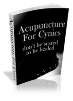 Thumbnail Acupuncture For Cynics With MRR (Master Resale Rights)