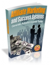 Thumbnail Affiliate Marketing and Success Systems With MRR (Master Resell Rights)