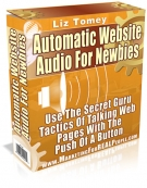 Thumbnail Automatic Website Audio For Newbies With MRR (Master Resale Rights)