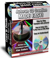 Thumbnail Autorun CD Creation Made Easy! With MRR (Master Resale Rights)