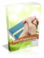Thumbnail Basics Of Spiritual Living With MRR (Master Resale Rights)