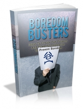 Thumbnail Boredom Busters With MRR (Master Resale Rights)