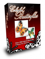 Thumbnail Colorful Butterflies With MRR (Master Resale Rights)