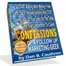 Thumbnail Confessions Of A Follow Up Marketing Geek With MRR (Master Resell Rights)