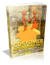 Thumbnail Customer Retention Force With MRR (Master Resale Rights)