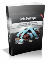 Thumbnail Debt Destroyer With MRR (Master Resell Rights)