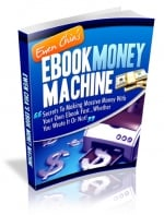 Thumbnail Ebook Money Machine With MRR (Master Resale Rights)