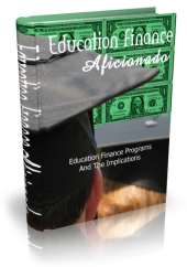 Thumbnail Education Finance Aficionado With MRR (Master Resell Rights)