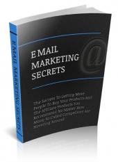 Thumbnail Email Marketing Secrets Exposed With MRR (Master Resell Rights)