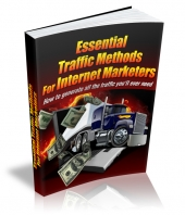 Thumbnail Essential Traffic Methods For Internet Marketers With MRR (Master Resell Rights)