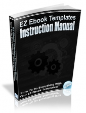 Thumbnail EZ Ebook Templates Instruction Manual With MRR (Master Resell Rights)