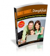 Thumbnail Family Budget Demystified With MRR (Master Resale Rights)