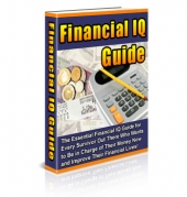 Thumbnail Financial IQ Guide With MRR (Master Resale Rights)