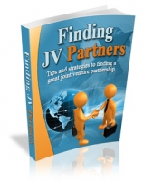 Thumbnail Finding JV Partners With MRR (Master Resale Rights)