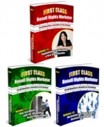 Thumbnail First Class Resell Rights Marketer Series With MRR (Master Resale Rights)