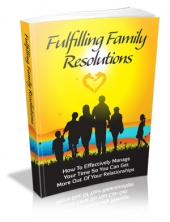 Thumbnail Fulfilling Family Resolutions With MRR (Master Resale Rights)