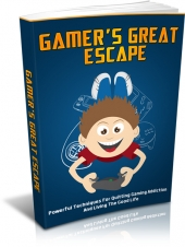 Thumbnail Gamers Great Escape With MRR (Master Resell Rights)