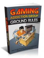 Thumbnail Gaming Addiction Group Ground Rules With MRR (Master Resell Rights)